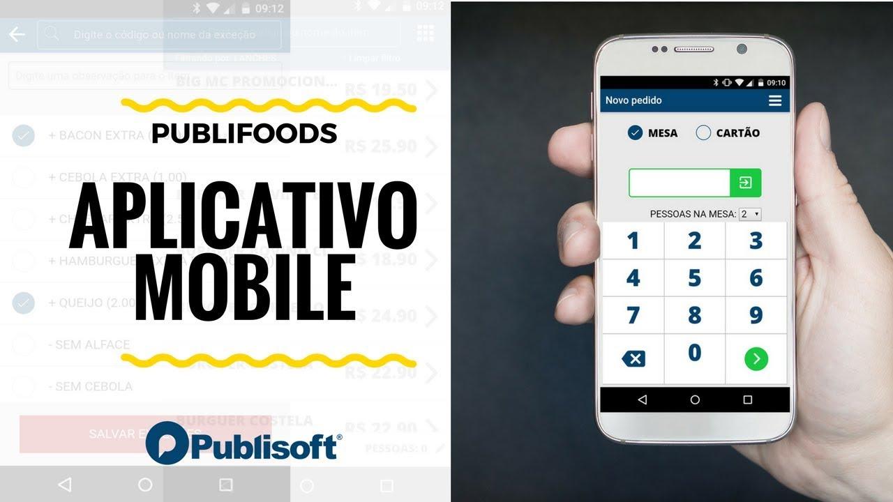 PubliFoods - Mobile (Restaurantes, lanchonetes e similares)