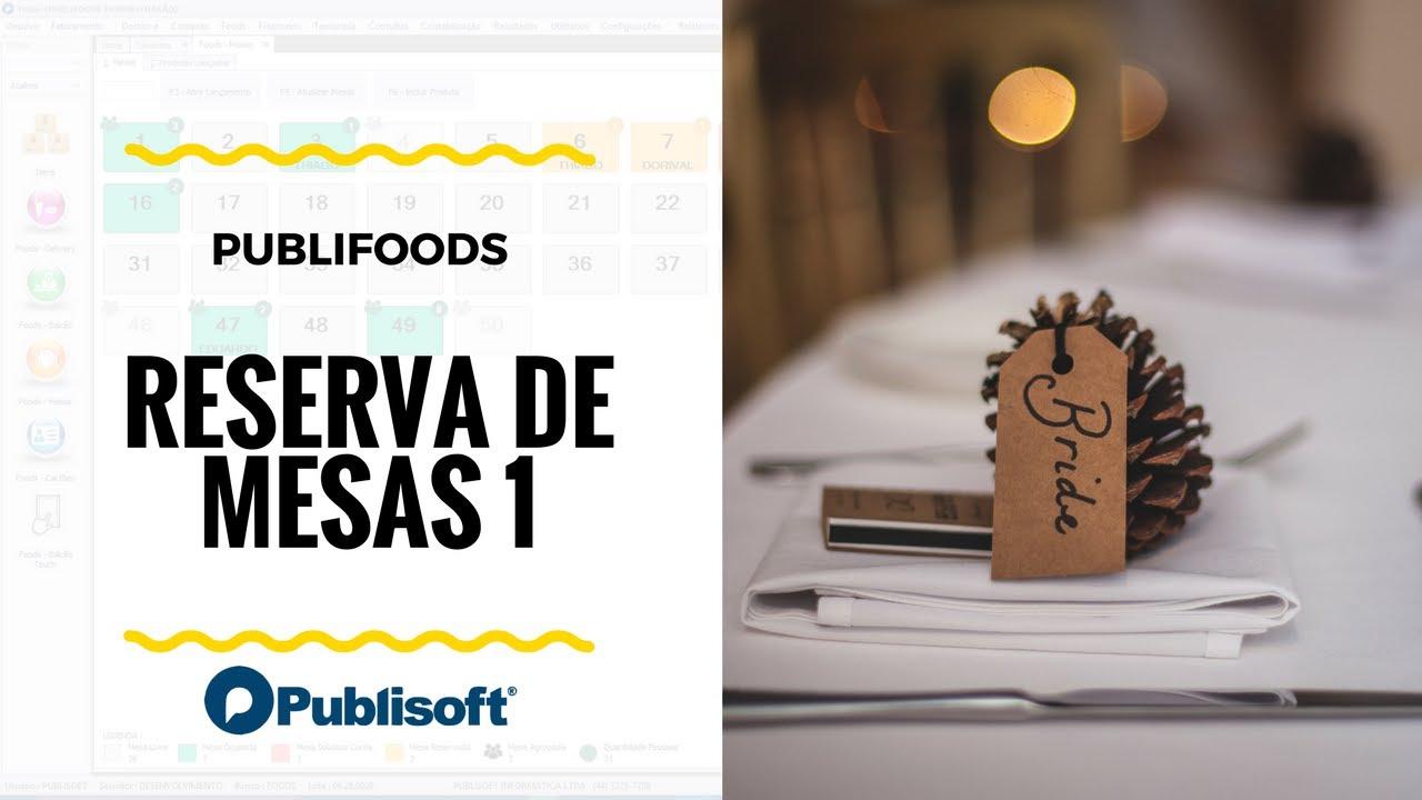 Reserva de Mesas (Restaurantes, lanchonetes e similares)