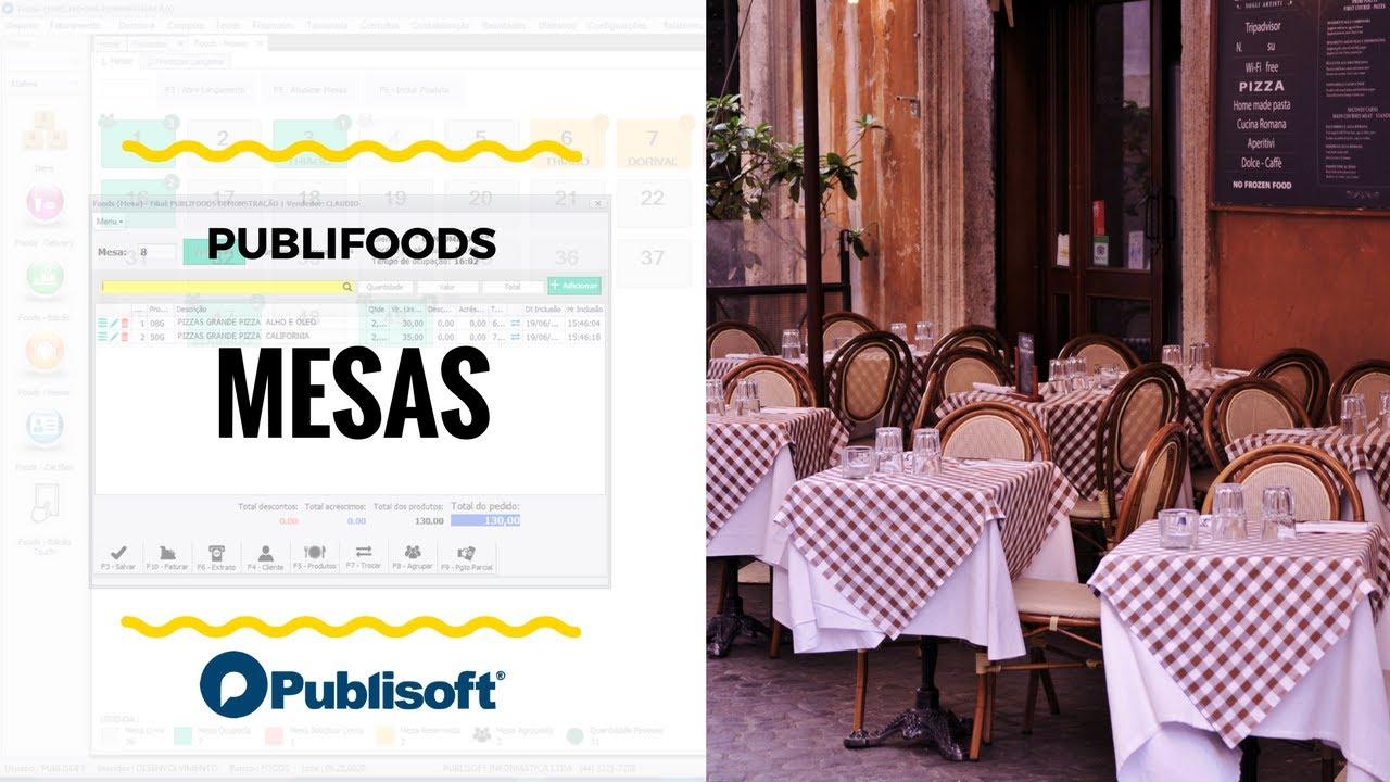 Mesas (Restaurantes, lanchonetes e similares)